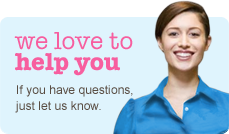 We love to help you. If you have questions just let us know - Contact Us